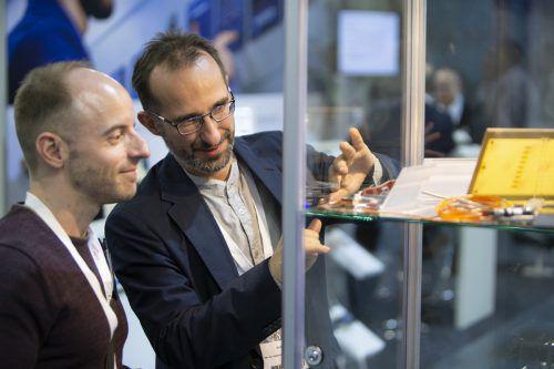 Die Technologiemesse W3 Fair findet ab Mittwoch zum zweiten Mal statt und bringt die Hightech-Branchen im Dornbirner Messequartier zusammen. Fa/Stoll