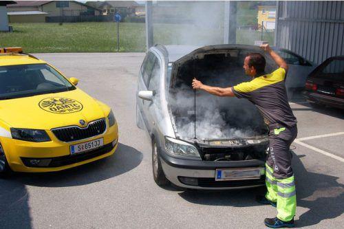 """Die """"Gelben Engel"""" mussten im Sommer in Vorarlberg 5900 Mal zu Einsätzen ausrücken. Im Vergleich zum Vorjahr eine Steigerung. ÖAMTC"""