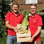 Gartenfreunde feiern ein Jahr lang Jubiläum