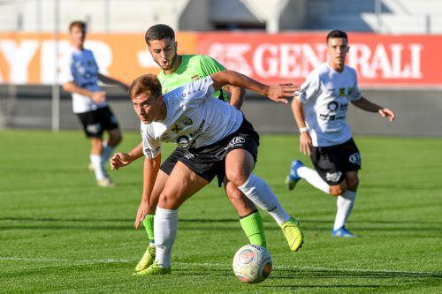 Die Juniors des SCR Altach setzten sich im VFV-Cup gegen die Amateure von Austria Lustenau durch und stehen in nächster Runde.