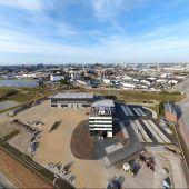 20-Millionen-Investition auf 44.000- Quadratmeter-Areal