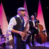 Das Publikum mit Jazzklängen verzaubert