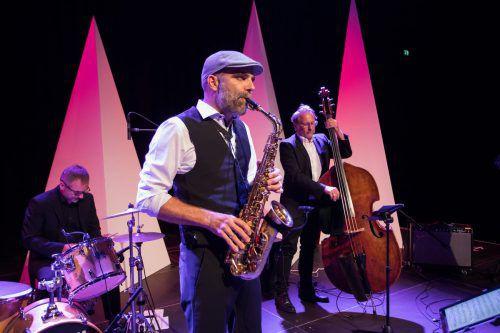 Die musikalische Umrahmung stand ganz im Zeichen von Jazz und Blues.
