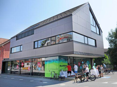 Die neue Radwelt in Hard im Haus Landstraße 9. ajk
