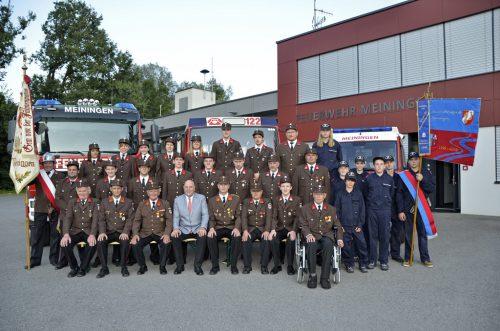 Die Ortsfeuerwehr von Meiningen feiert am 14. und 15. September ihren 100. Geburtstag.Feuerwehr/Benzer