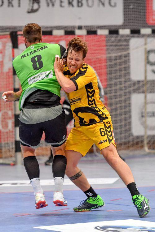 Die Rückkehr von Lukas Frühstück wirkte sich positiv aus. Der Kapitän trug viel zum ersten doppelten Punktgewinn der Bregenzer gegen West Wien bei. GEPA