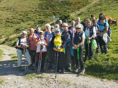 Die Septemberwanderung des Götzner Kneipp-Aktiv-Club führte vom Klostertal über das Wasserstubental ins Silbertal. verein