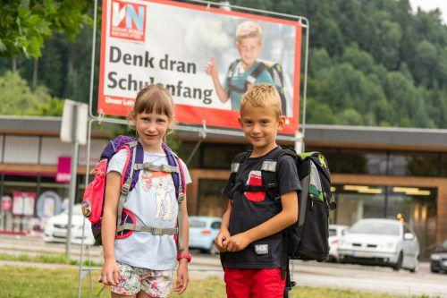 Die Spannung steigt: Vor allem für die 4839 Erstklässler beginnt an den Vorarlberger Volksschulen am Montag ein neuer Lebensabschnitt. VN/Lerch