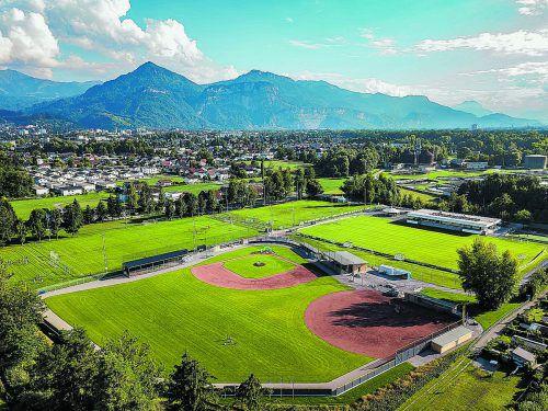 Die Sportanlage Dornbirn-Rohrbach soll durch einen Kunstrasenplatz erweitert werden. STD