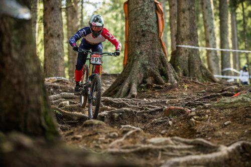 Die Südtirolerin Veronika Widmann (l.) triumphierte im Brandnertal und in der Jahreswertung. Rick Schubert
