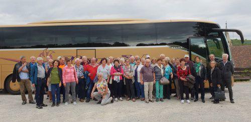 Die Vandanser Pensionisten genossen den Ausflug nach Niederösterreich kürzlich in vollen Zügen.Verein