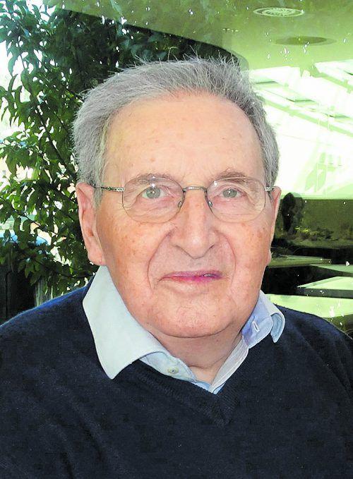 Dr. Gerhard Breitfellner, Gründer des ersten Instituts für Pathologie in Vorarlberg.