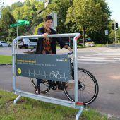 Feldkircher Tritt gibt Radfahrern Halt