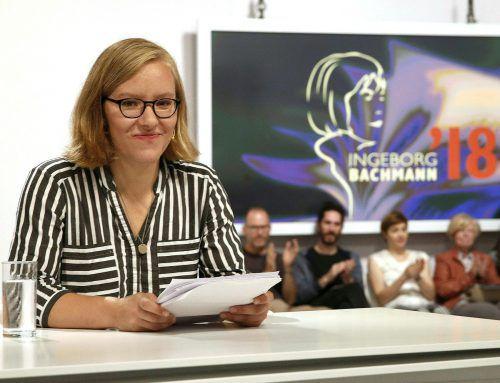 Edelbauer war Gewinnerin des Publikumspreises beim Bachmann-Preis 2018. apa