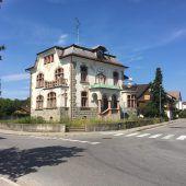 Pension und Café in der Villa Robert Bösch