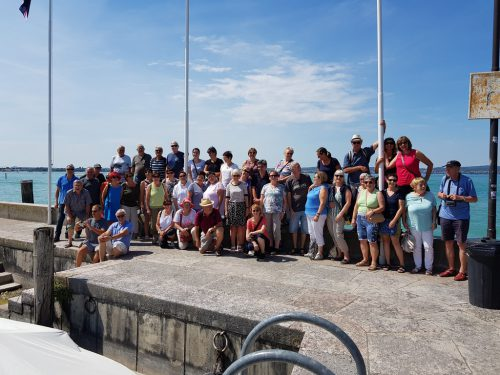 Ein ganz besonderes Erlebnis, den Jahresausflug, erlebten die Mitglieder des Gesangsvereins.Frohsinn nofels/Angelika Ott