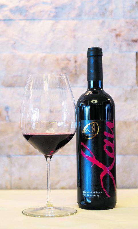 Ein wunderbarer Wein vom Weingut Charly Lau in Lochau.Beate Rhomberg