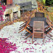 Gartenmöbel überwintern