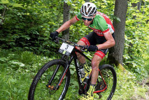 Eine Topleistung lieferte Daniel Geismayr beim 32. Dolomitenmann ab.VN