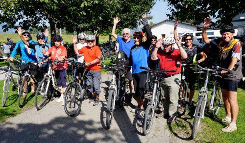 Der Seniorenbund lädt zur 19. Radsternfahrt nach Koblach zum Sportplatz herzlich ein.vlbg sb