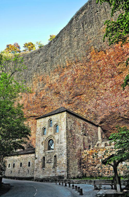 Einst das bedeutendste Kloster Spaniens: San Juan de la Pena.