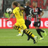 Hütters Frankfurt nimmt Dortmund Punkt ab