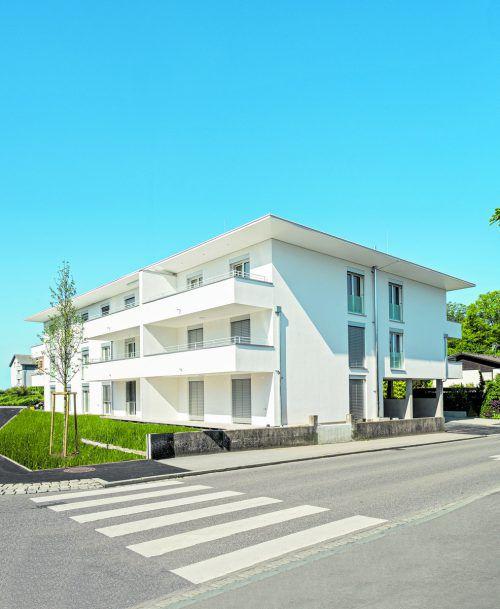 Es sind nur noch zwei Wohnungen frei.Bild: Hefel Wohnbau