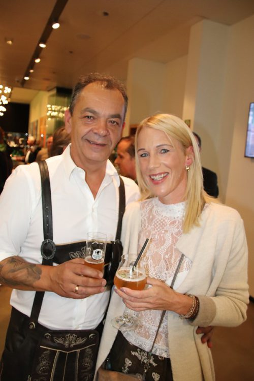 Ewald und Tanja Helbock.