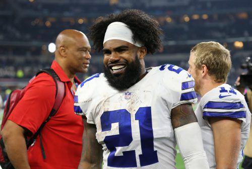 Ezekiel Elliott kann über den Rekorddeal mit den Dallas Cowboys lachen.USA-Today