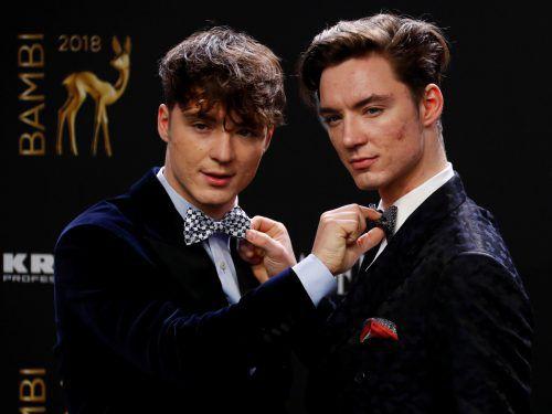 Heiko und Roman Lochmann wollen heuer ihre ersten Songs veröffentlichen. Reuters