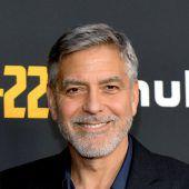 Clooney sorgt für Aufregung