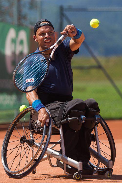 Der Dornbirner Thomas Flax will als erster Vorarlberger Rollstuhltennisspieler bei Paralympics sein Können zeigen.Steurer