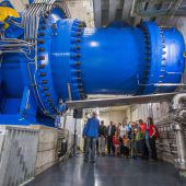 Vorarlberger bestaunen neues Kraftwerk