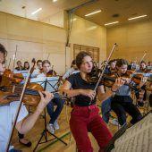 Orchesterklänge mit jugendlicher Energie