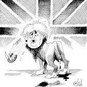 Der britische Löwe!