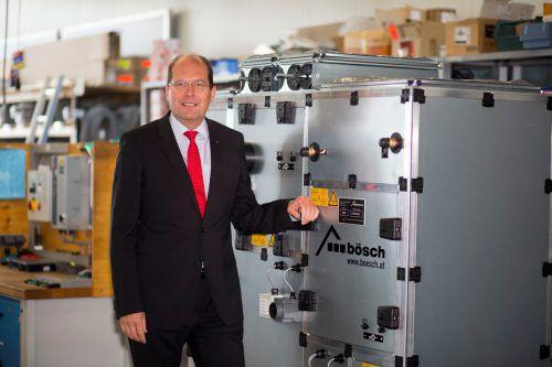 Bösch hat im vergangenen Jahr zehn Millionen Euro in die Optimierung des Hauptsitzes in Lustenau investiert, berichtet Geschäftsführer Robert Janschek.VN/Paulitsch