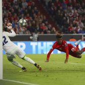Bayern starten mit 3:0-Sieg in Königsklasse