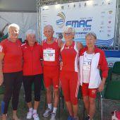 13 Medaillen für Vorarlbergs Leichtathleten bei Masters-EM