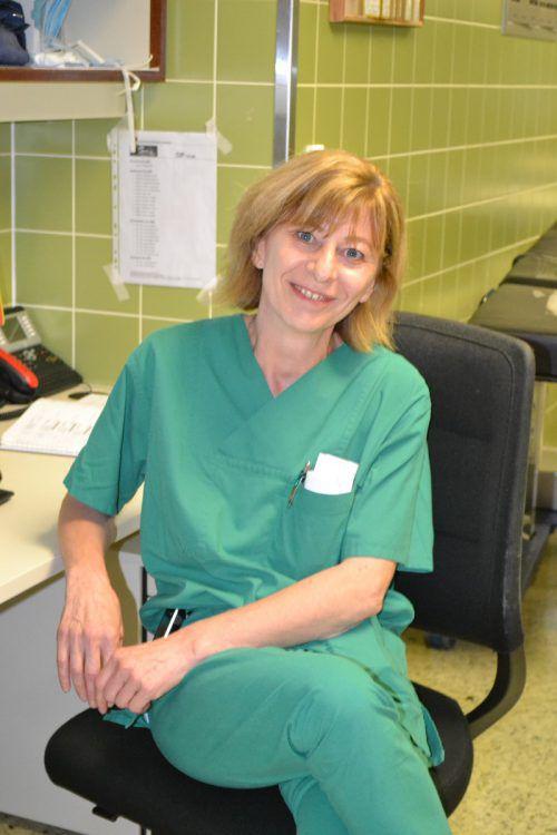 Für Andrea Kröll ist Empathie mit dem Patienten wesentlich. BI