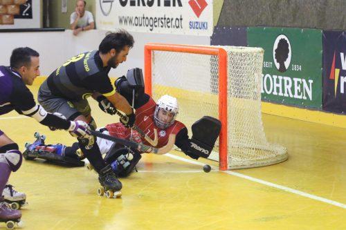 Für die Dornbirner Rollhockeycracks gab es einen Saisonauftakt nach Maß in der Dornbirner Stadthalle. RHC
