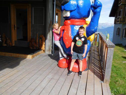 Für die Kinder war der Tagesausflug zum Bewegungsberg am Golm eine willkommene Abwechslung. mima