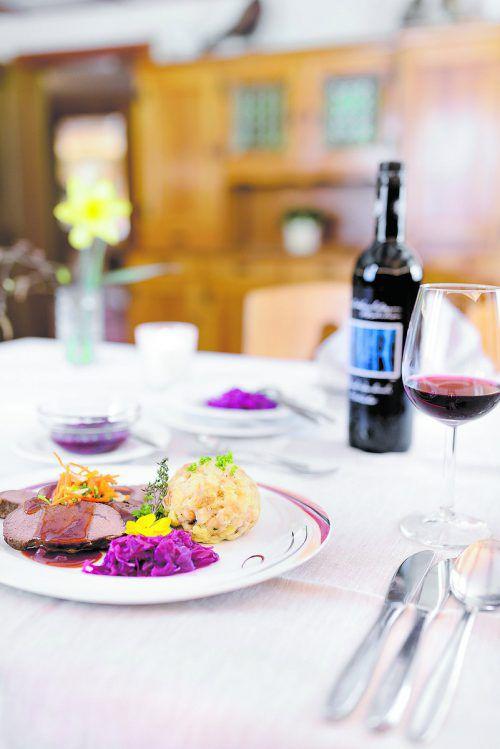 Genuss pur: VN-Abonnenten erleben die erste Walser Kulinarikrunde diesen Donnerstag, 12. September 2019, zum Vorteilspreis von nur 55,20 Euro.matthias rhomberg