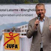 Spaten für Jufa-Hotel gesetzt