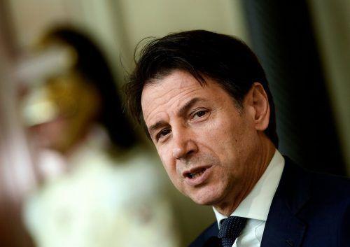 Giuseppe Conte soll nun dem Präsidenten seine Ministerliste vorstellen. AFP