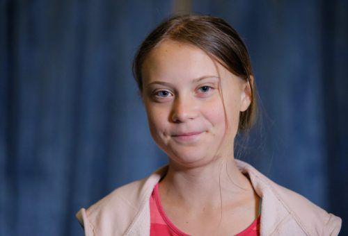 Greta Thunberg ist eine von vier Preisträgern. AP