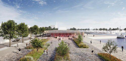 Das Harder Hafenareal soll neu gestaltet werden. Gemeinde