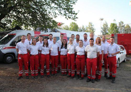 Großeinsatz für die Rettungsabteilung Lustenau beim Szene Open Air.mima