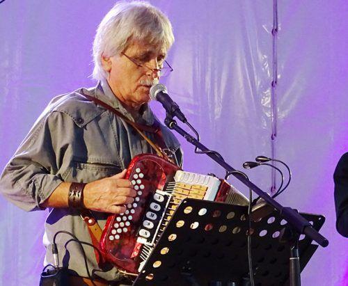 Günther Sohm ist Musiker und Mundart-Schriftsteller. tf