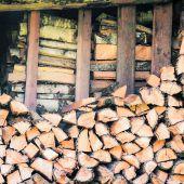 Holz schon eingelagert?