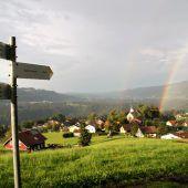 Traditionelle Bergmesse
